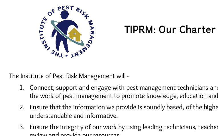 Our Charter - TIPRM
